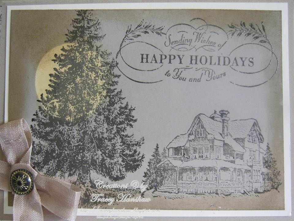 Stampin Up Card Ideas | ... HANSHAW: CHRISTMAS CARD IDEAS WITH ...