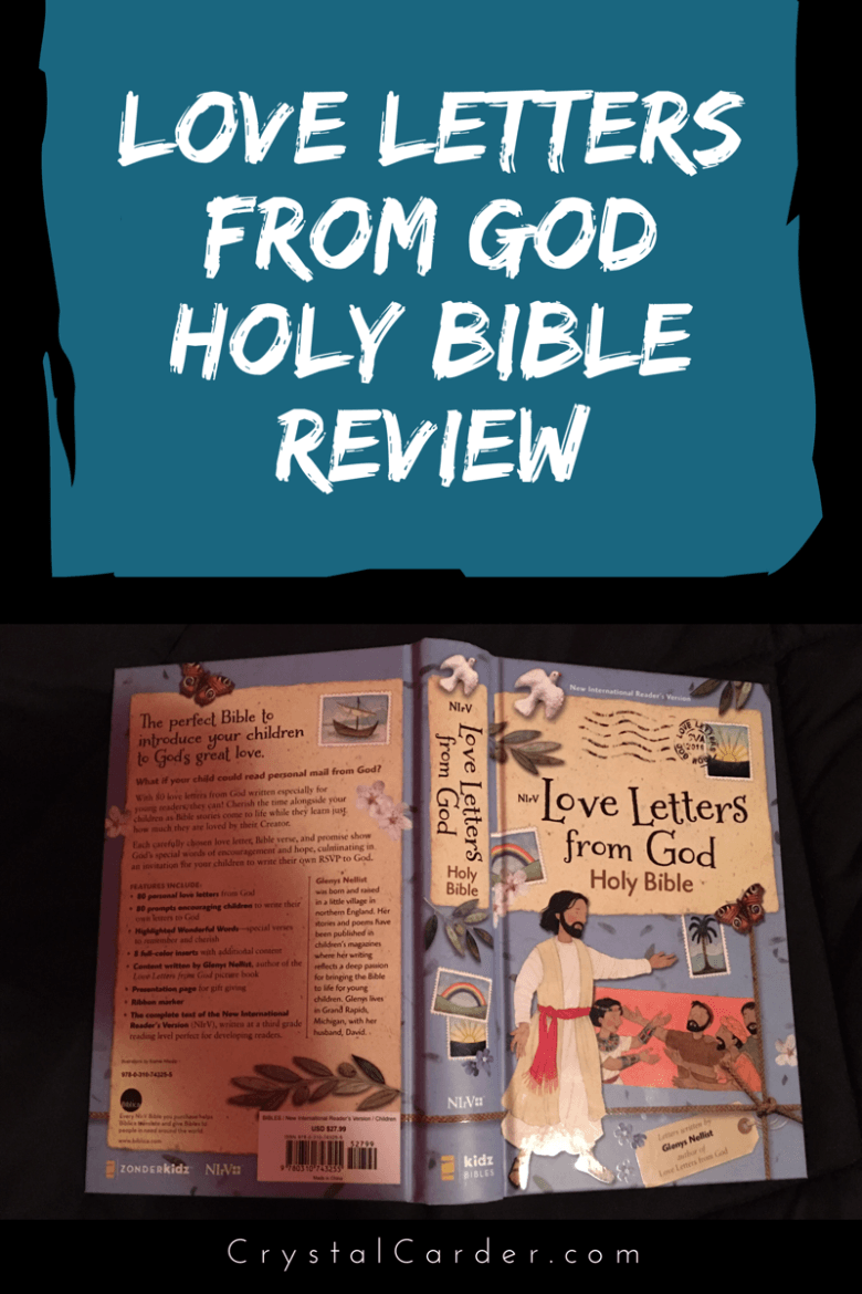 love letters from god holy bible by zondervan publishing is one of the newer kid bibles