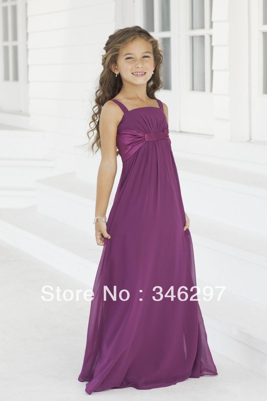vestido largo color uva para la engreída, como modelos únicos ...
