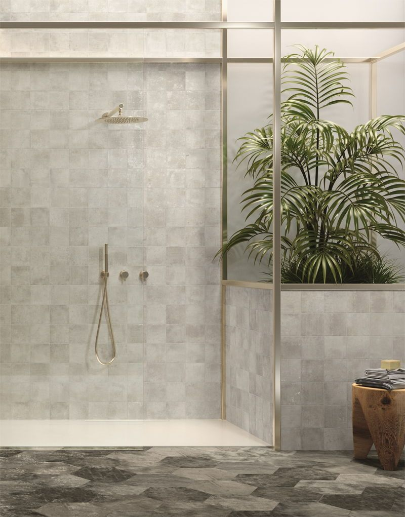 Welcome 2020 Small Bathroom Decor Kitchen Feature Wall Grey