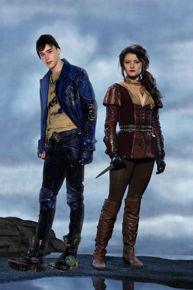 Once Upon A Time Descendents Belle And Ben Disney Descendants