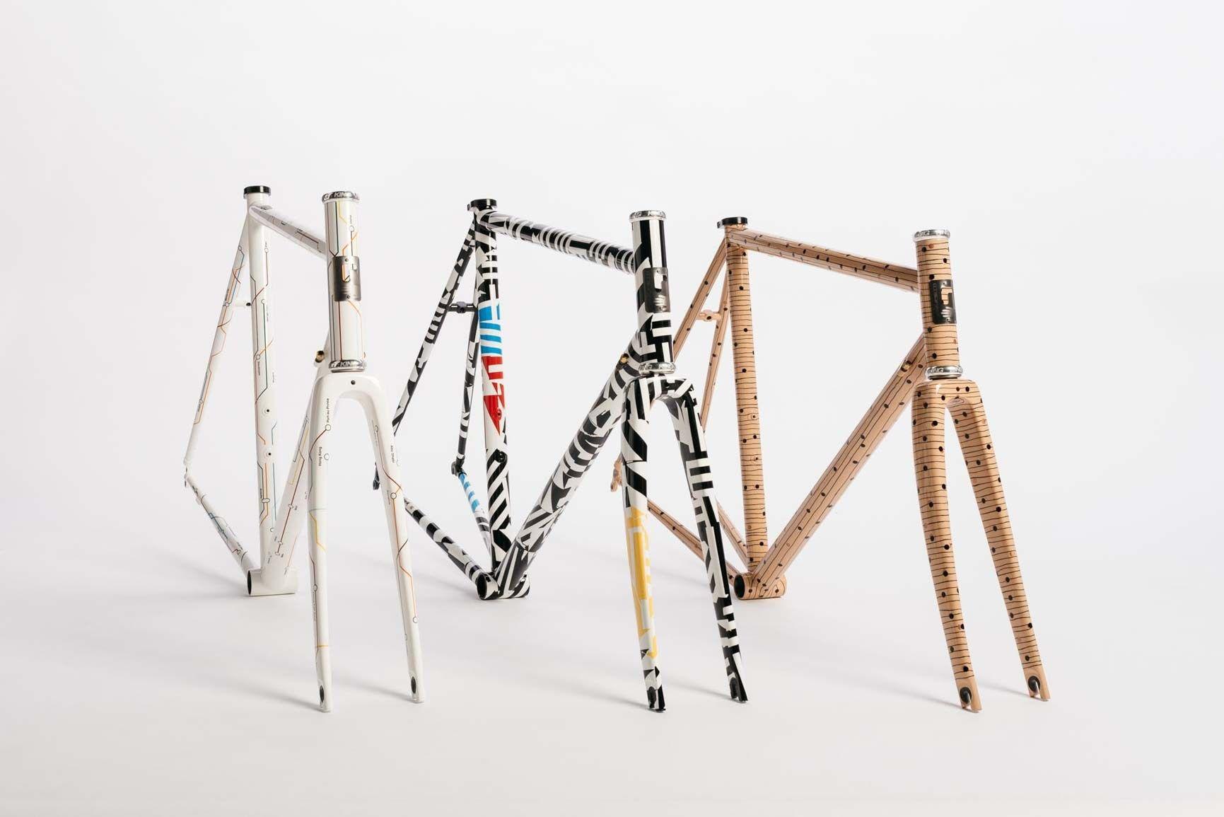 3 Stahlrahmen Unikate von Dario Pegoretti. Der Rahmenbau-Meister ...