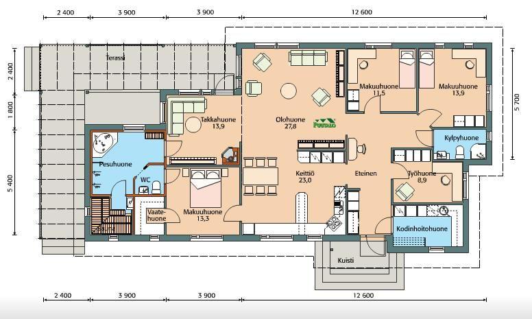 Vecsés legszebb részén egy 151 m2-es, 4 szobás és egy 57 m2-es, 1+ ...