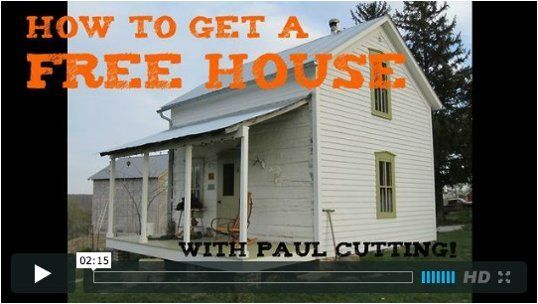 Paul Cutting: How to Get a Free House — Maker Videos