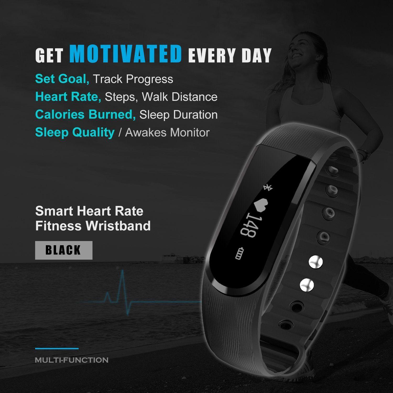 Fitness Tracker Watch Fitness Activity Tracker, Wireless