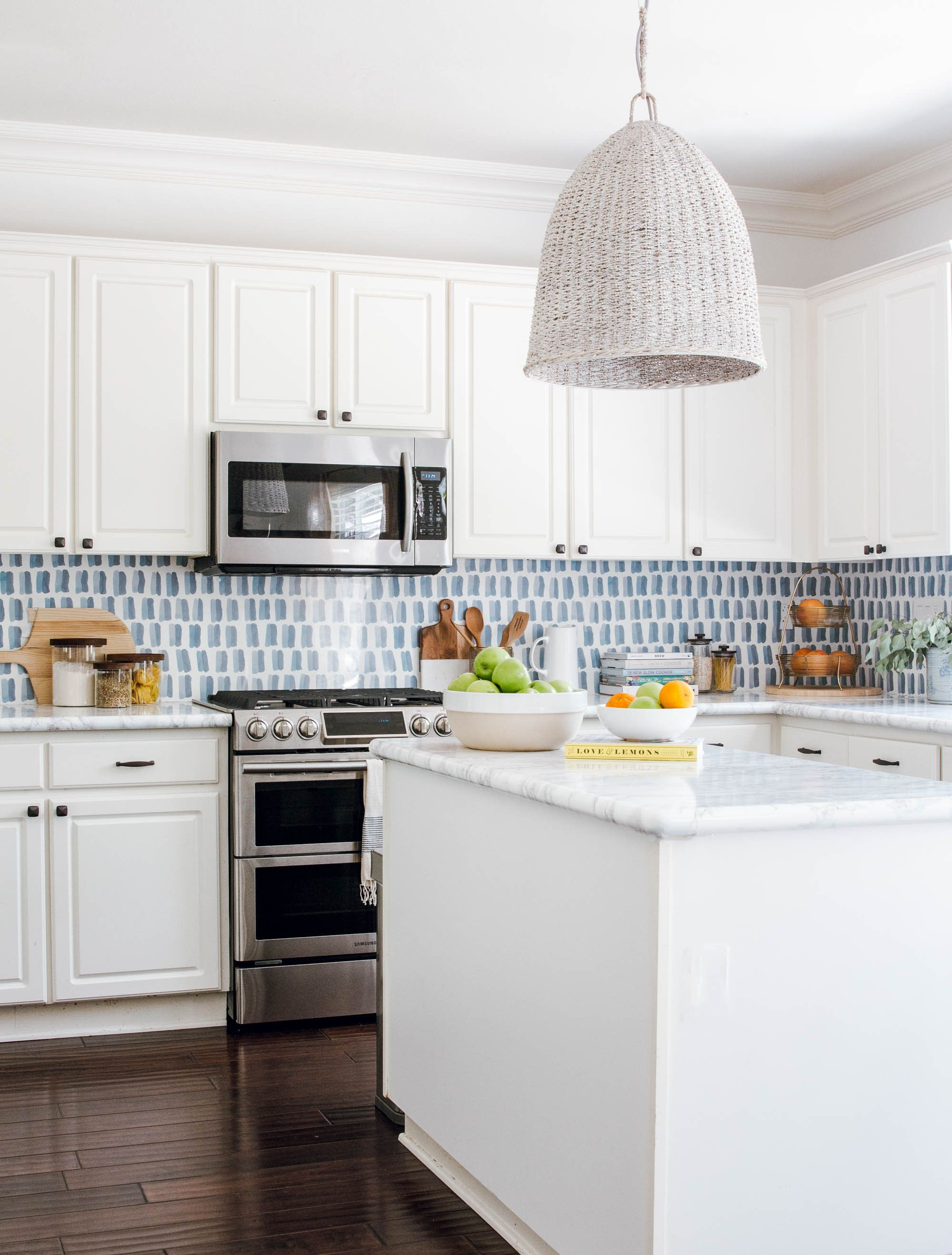 You Need To See Anita Yokota S Diy Kitchen Backsplash Kitchen Wallpaper Diy Kitchen Backsplash Kitchen Renovation Cost