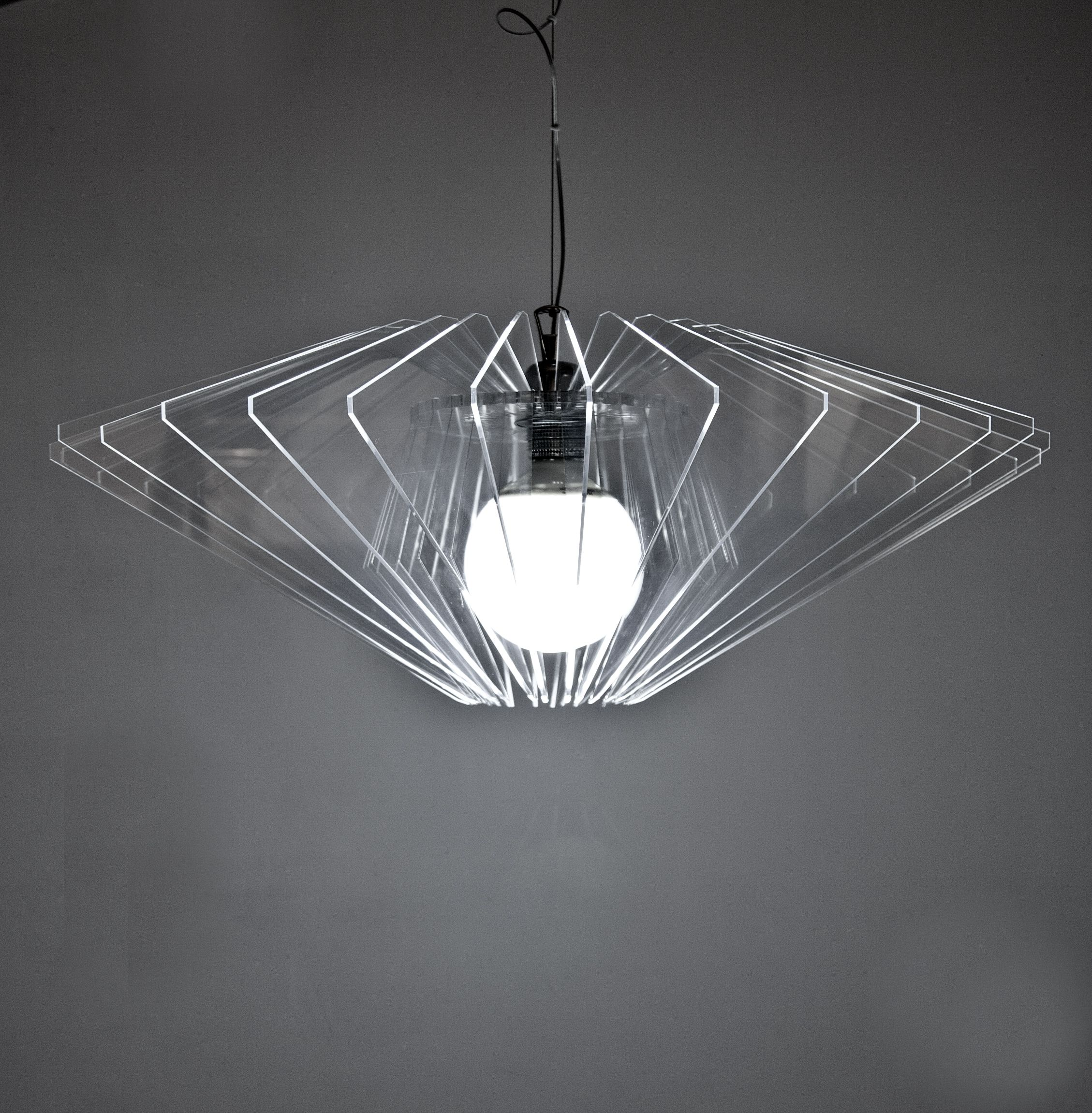 Diamanti lights is a collection of suspension lamps made in