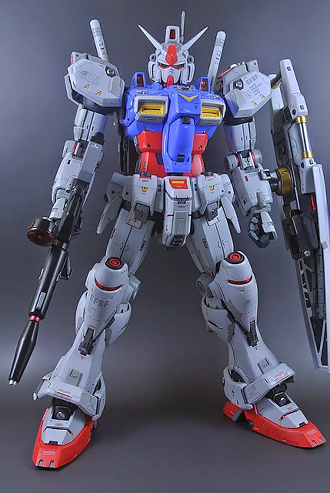 Custom Build: PG 1/60 RX-78 GP01/Fb Gundam GP01 - Gundam