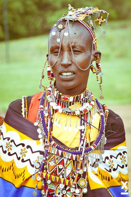 #Family#Art#Fashion photographer Xavi Menos  Maasai embroiderers in Kenya