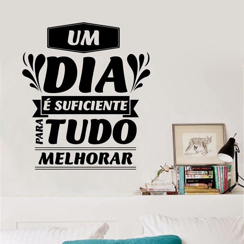 Portuguese Inspiration Quote Vinyl Wall Sticker - Portuguese Version