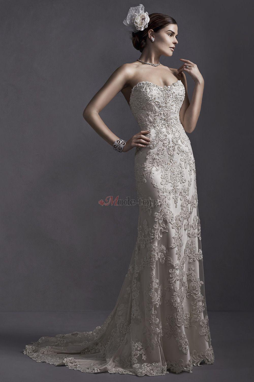 großes Bild 1 Casual Enge-Kleid Natürliche Taille Ärmellos ...