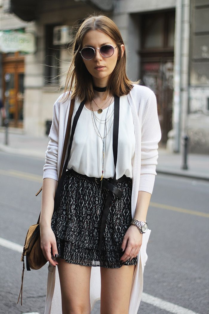 Fashion and style: Ribbed cardigan