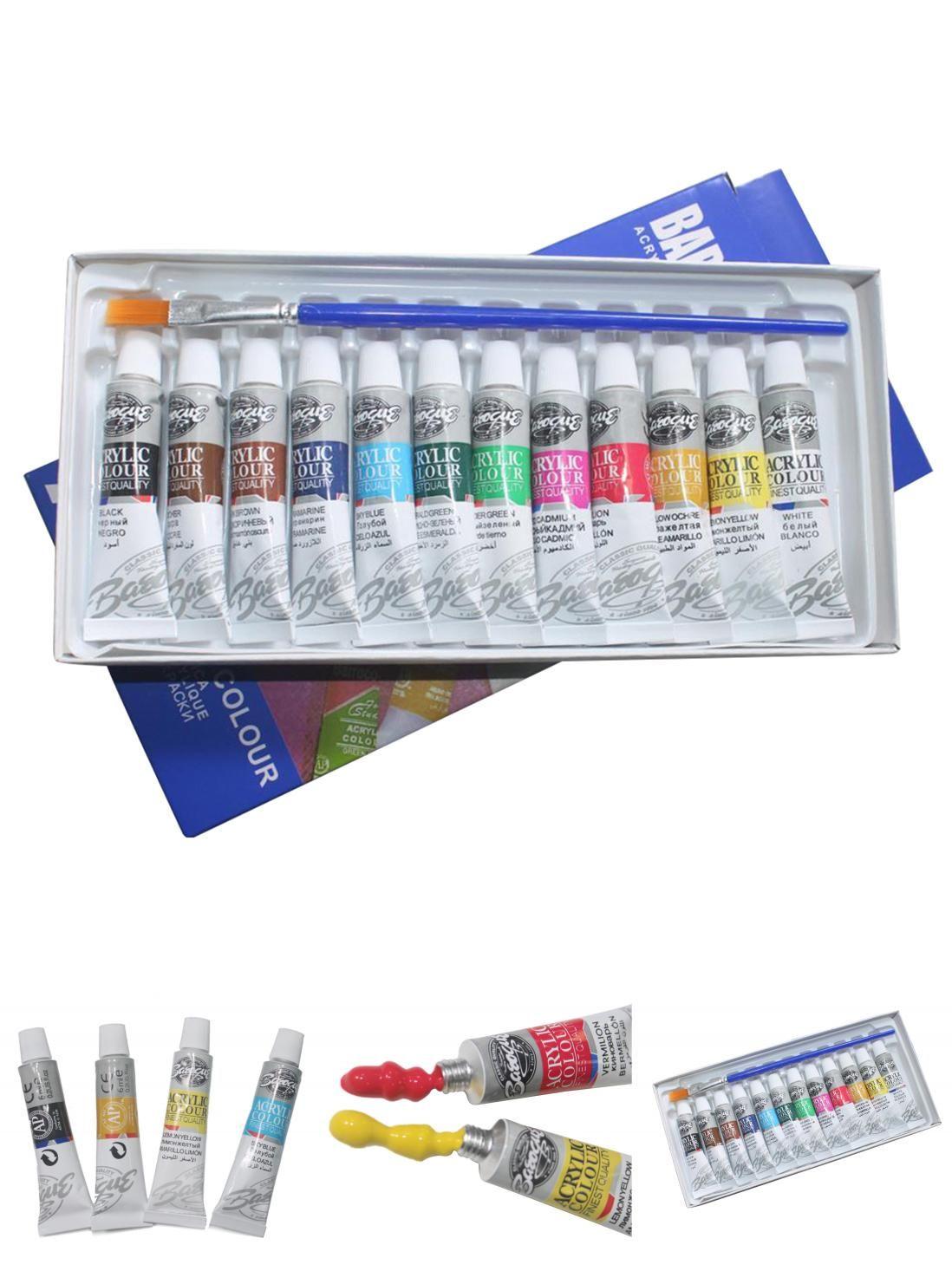 Nail Miniatures Models Nylon Hair Oil Airplane Kits MEEDEN Detail Paint Brush Set 6 Miniature Art Brushes for Fine Detailing /& Art Painting Acrylic Watercolor