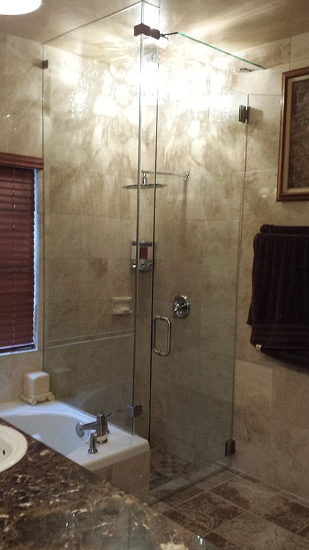 Pin By Creative Mirror And Shower Design On Glass Shower Doors Simple Phoenix Bathroom Remodel Creative