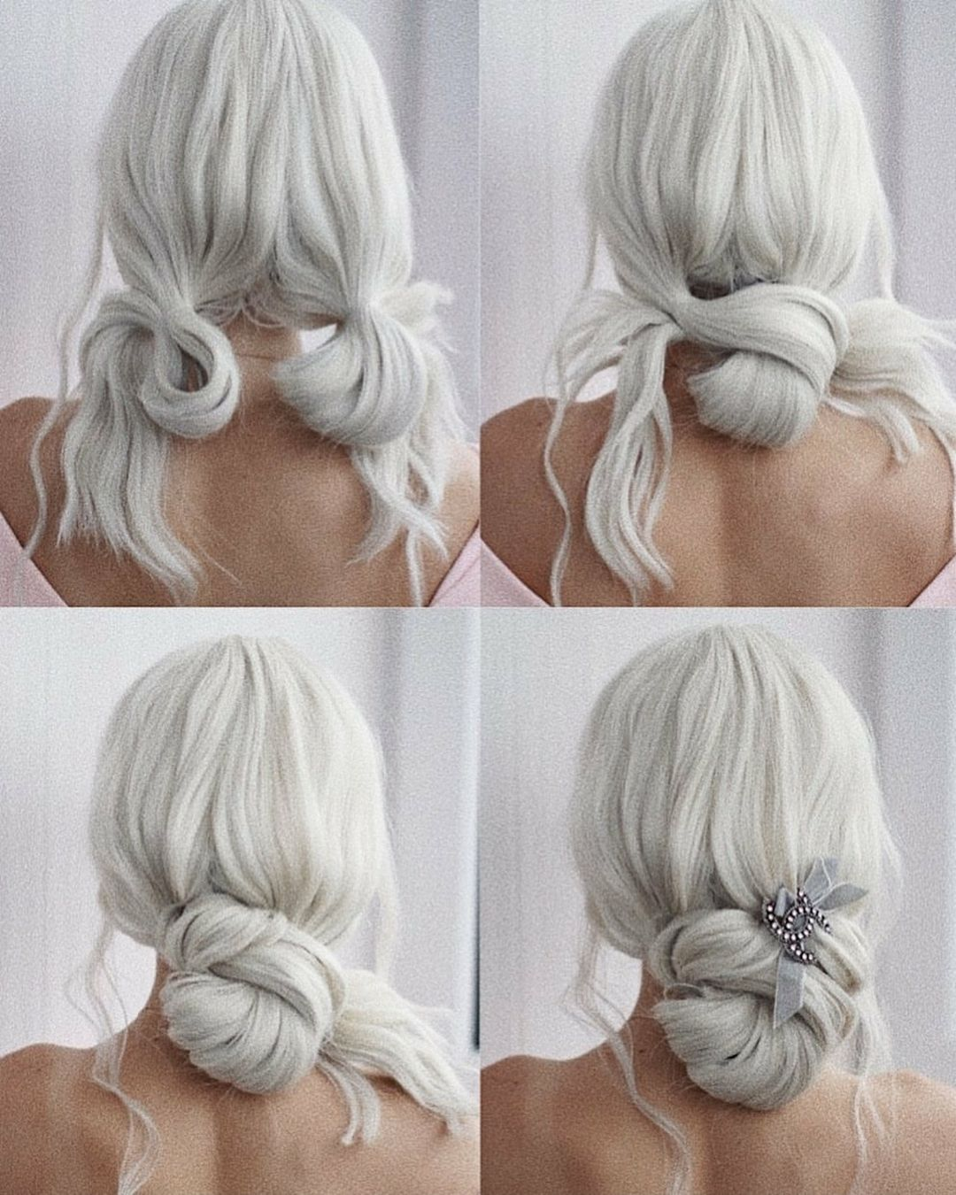 "behindthechair.com on Instagram: ""* Holiday Hair ... by @ulyana.aster + #Chanel"
