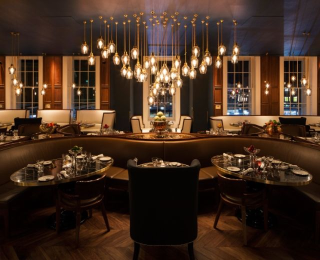 Luxury Interior Design European Hotel Awards Winner Plum Spilt Milk Restaurant
