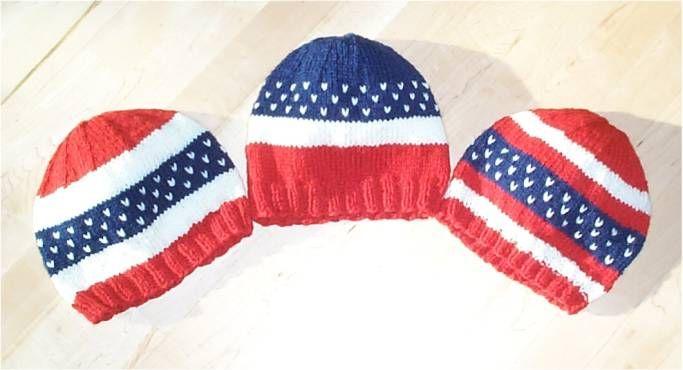 A Trio of Patriotic Hats