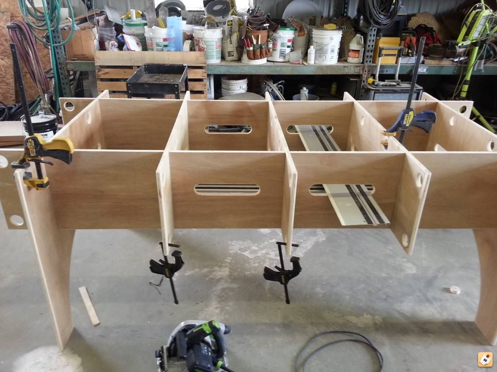 Please Show Me Your Plywood Cutting Tables