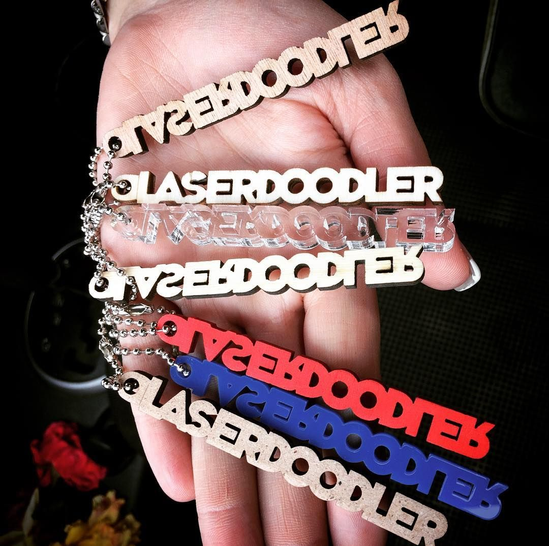 Goodmorning everyone!! Have been cutting out some sample keyrings ...