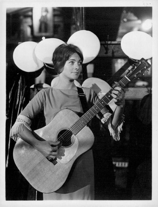 Judy Collins, 1963.