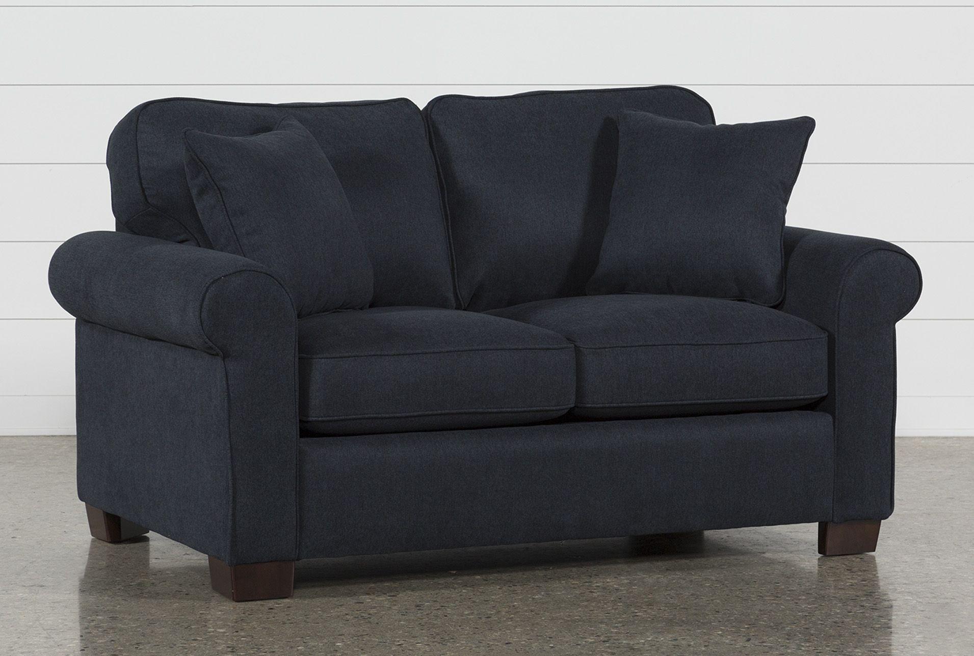 Twin Sofa Sleeper Margot Denim Blue