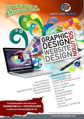 graphic design flyer business