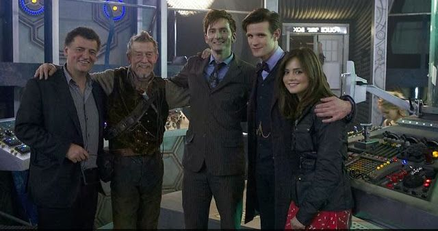 PHOTOS: Behind The Scenes Photos Of The Day Of The Doctor   DAVID TENNANT NEWS UPDATES