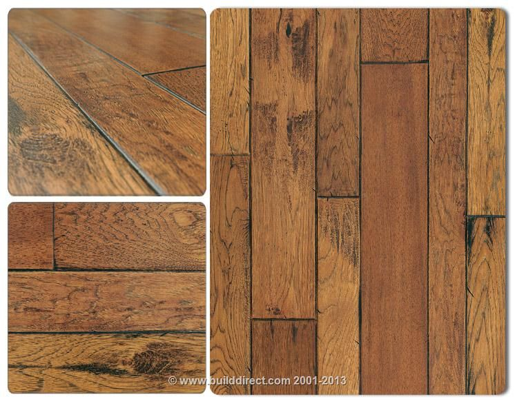 Builddirect Engineered Hardwood Floors Handscraped Mixed