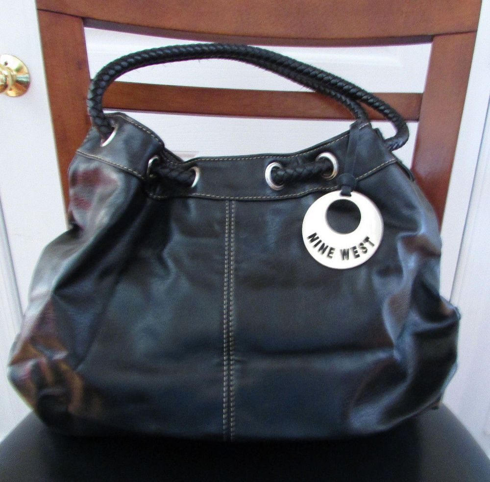 2dad405dace4 Nine West Black Huge Hobo Bag Hand Bag Purse  NineWest  Hobo ...