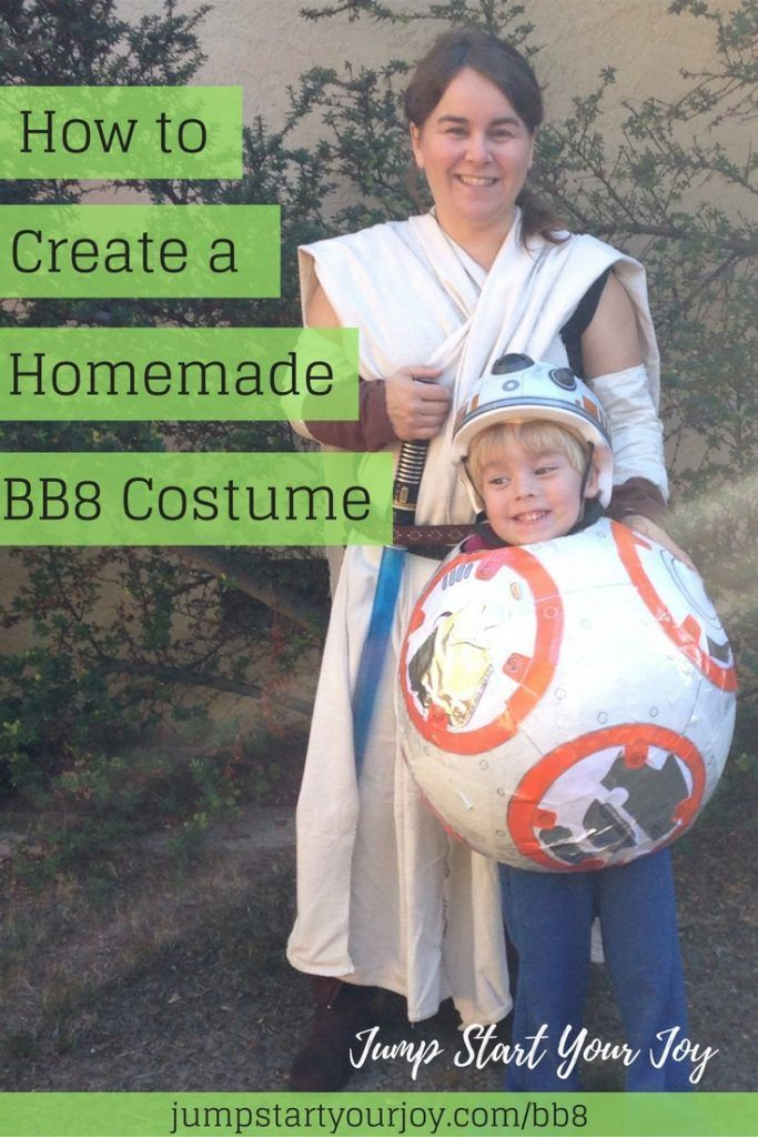 How to Make a Homemade BB8 Costume for Your Child Bb8, Halloween - mom halloween costume ideas