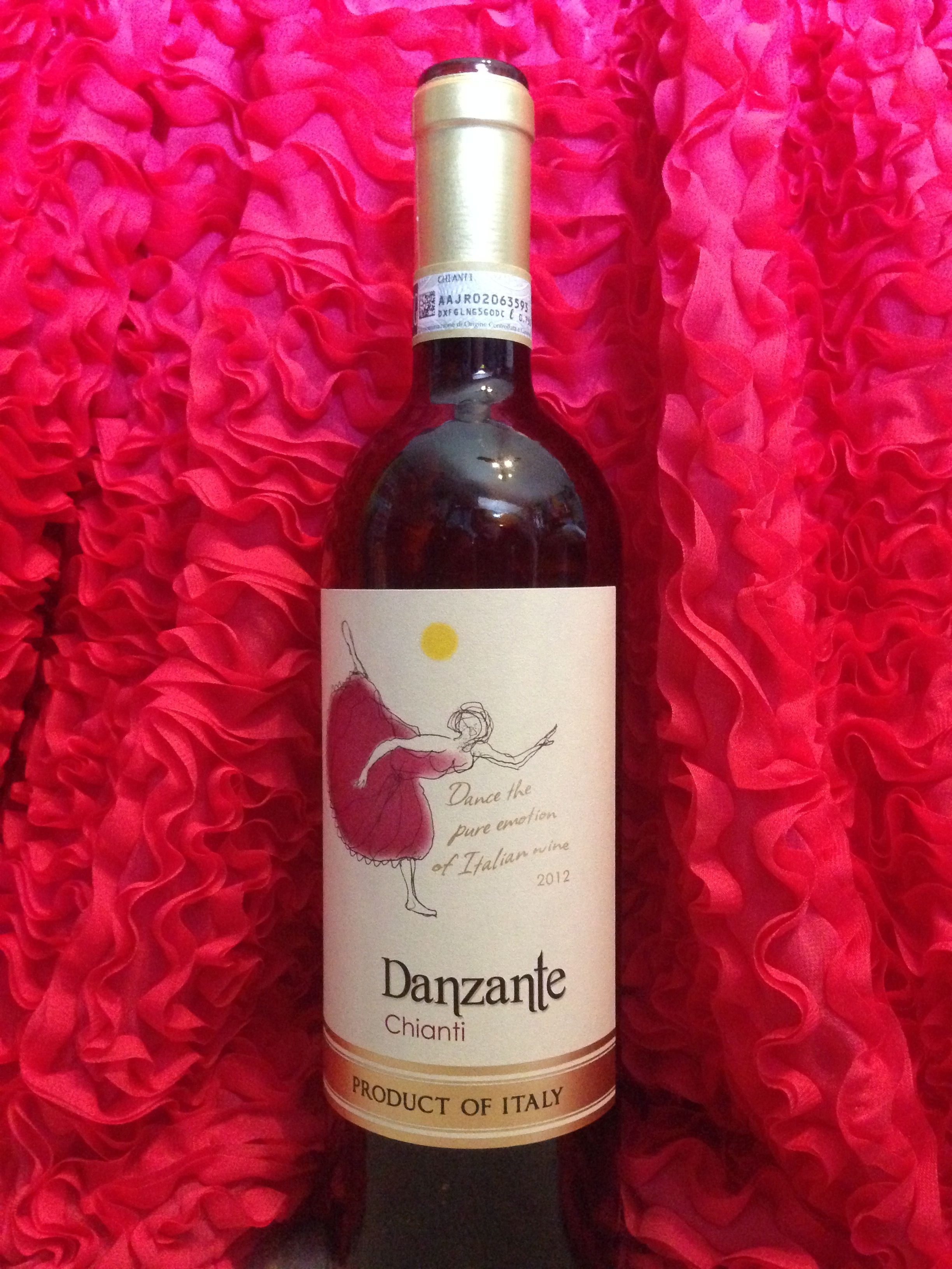 Danzante Chianti Italy Wine Bottle Chianti Rose Wine Bottle