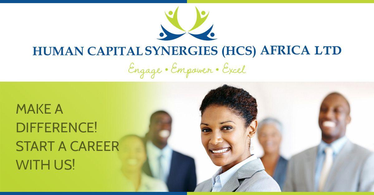 We are hiring in Nairobi (Kenya) HCS Africa General