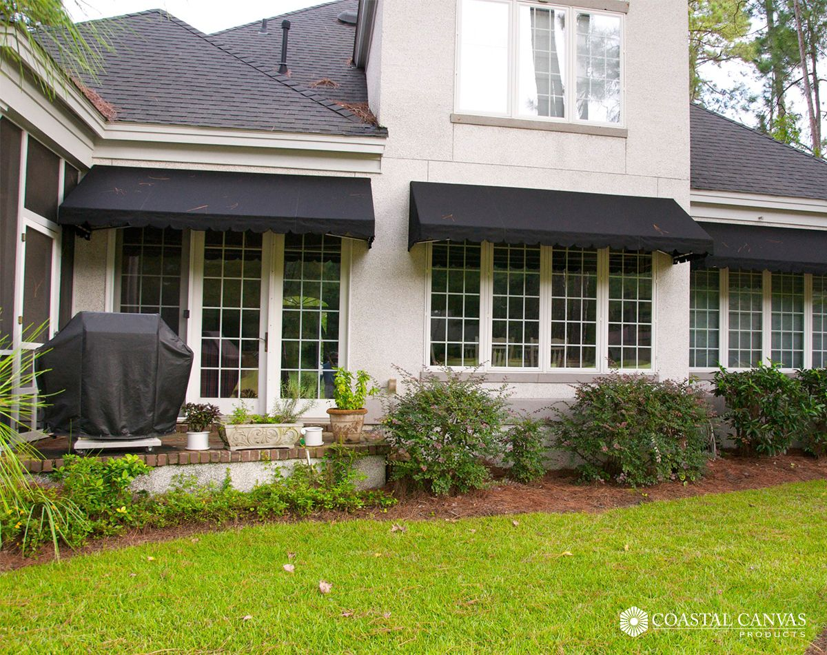 Paint And Trim Color With Awnings Better In Grey Residential Awnings Awning Canopy Retractable Awning