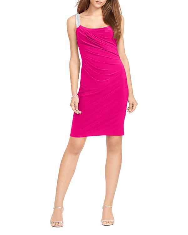 040d42ae Lauren Ralph Lauren Embellished Strap Dress | Products | Pinterest