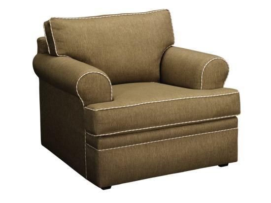 Attirant Kendall Khaki Chair   Value City Furniture