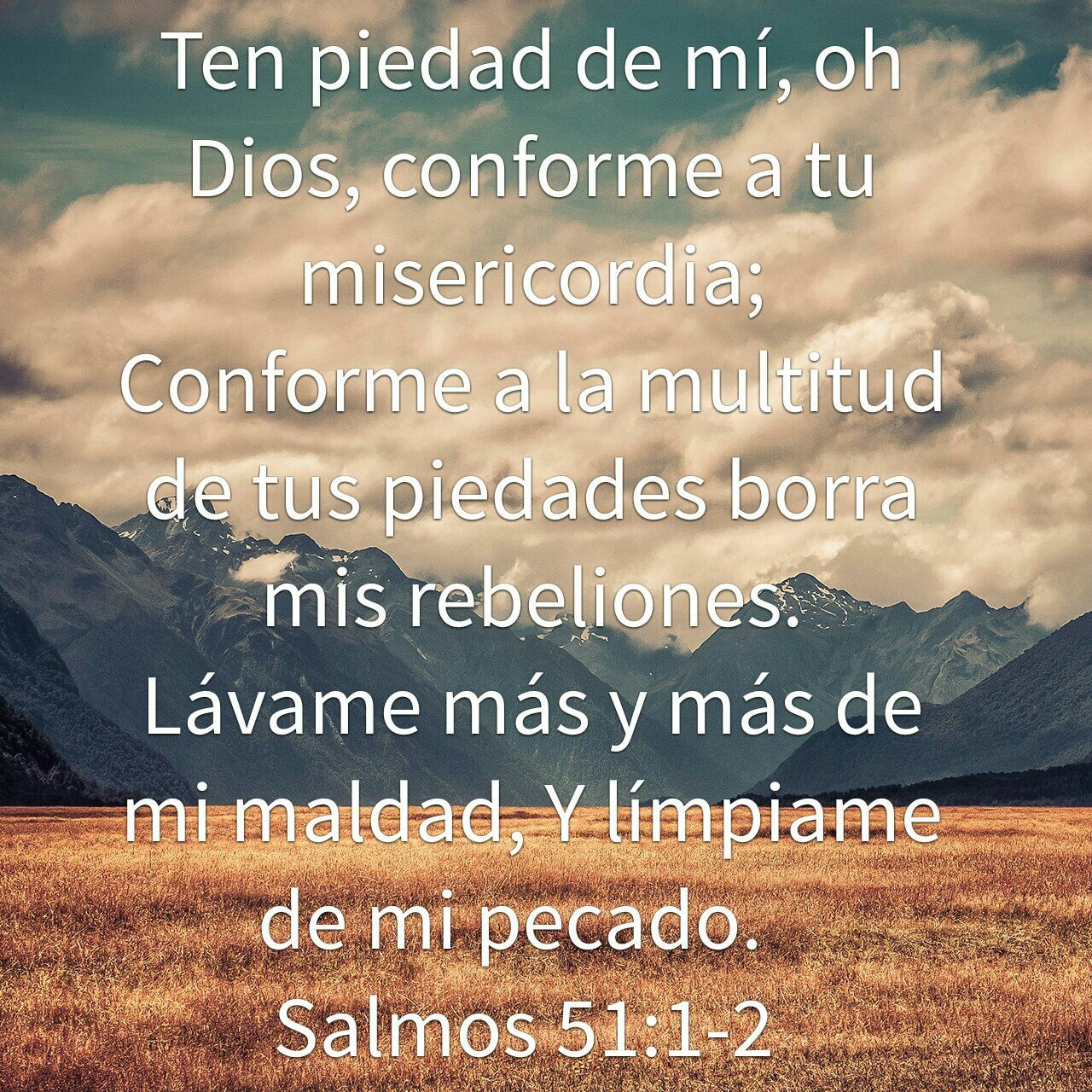 Salmos 51:1-2   Versículo del día   Pinterest   Salmo 51 y Salmos