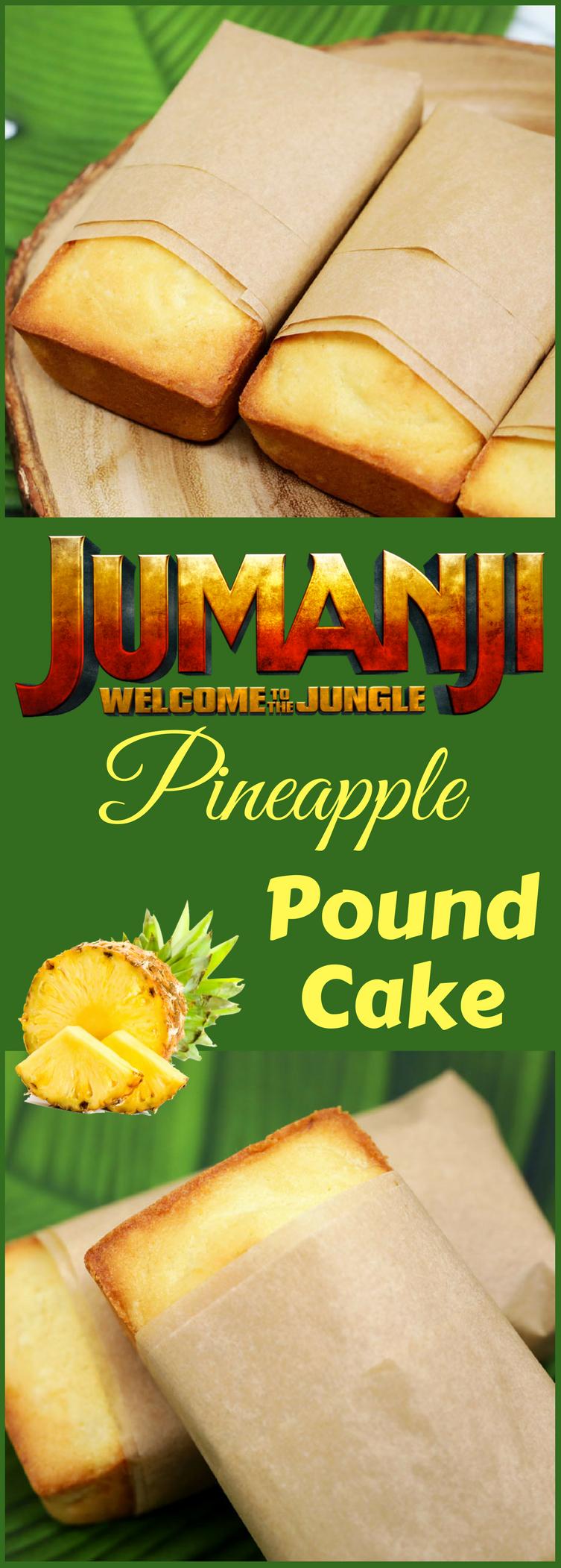 Jumanji Pineapple Pound Cake In 2020 Pineapple Pound Cake Food Recipes