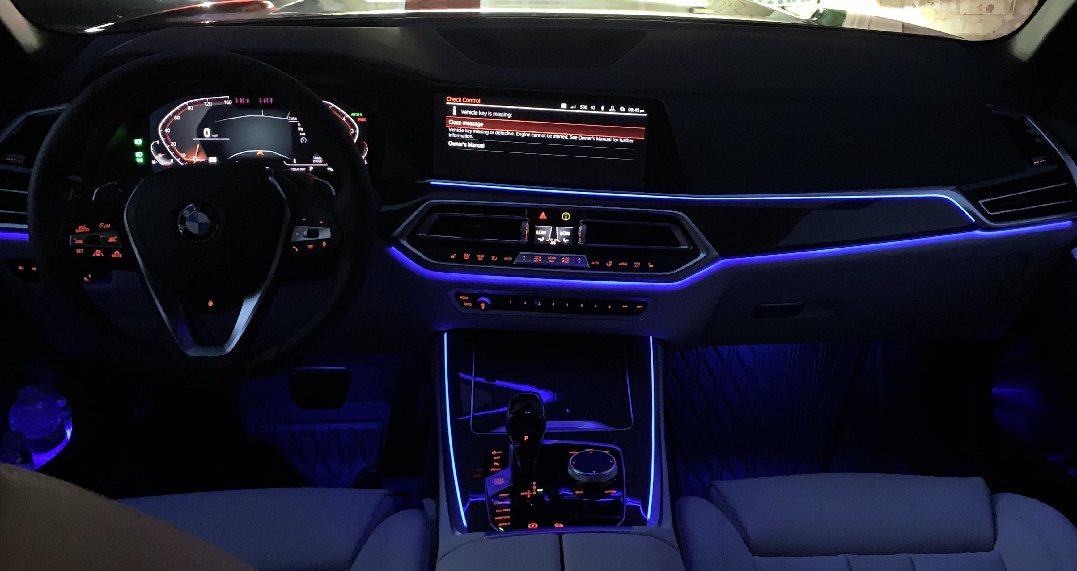 Ambient Lighting In The New X5 Ambient Lighting New X5 Ambient