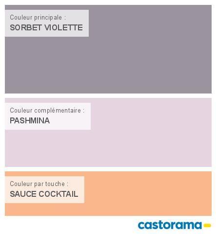 Castorama nuancier peinture mon harmonie peinture sorbet for Colours castorama