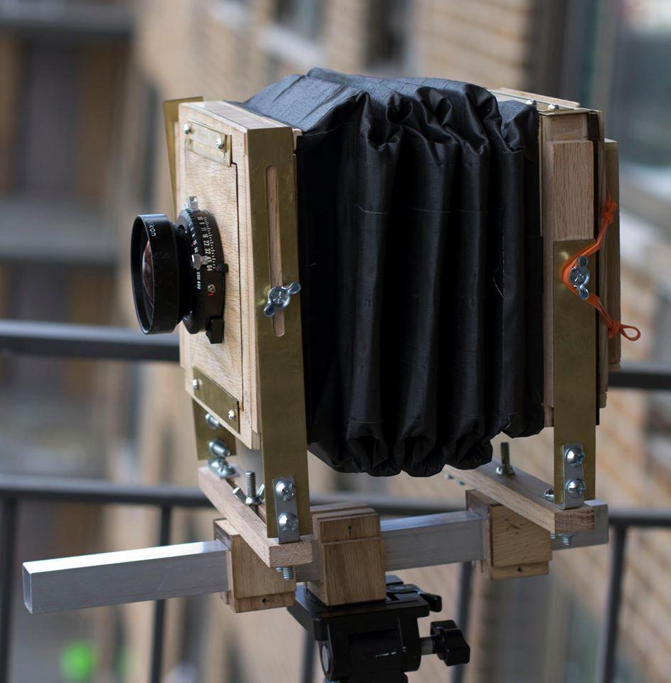 Chambre 4x5: Trailer, Camera, & Workshop