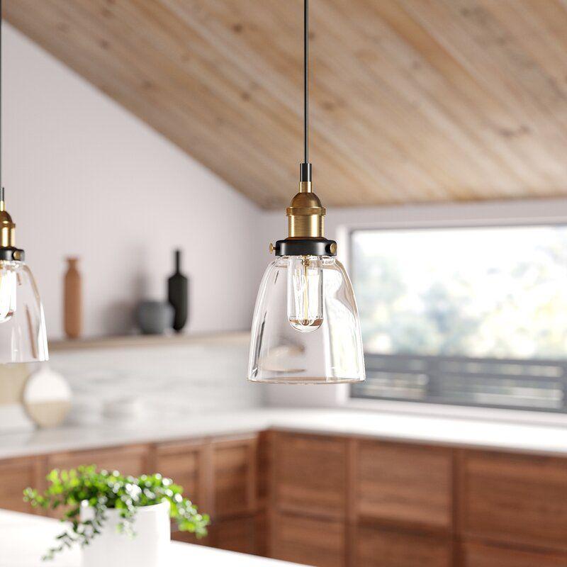 Bundaberg 1 Light Single Bell Pendant Reviews Allmodern In 2020 Ceiling Lights Pendant Lighting Contemporary Pendant Lights