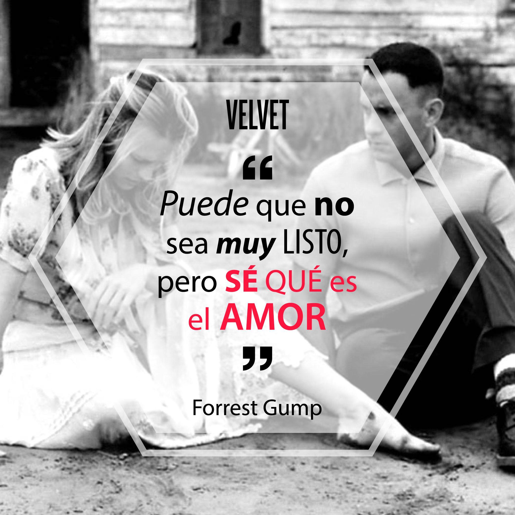 """""""Puede que no seas muy listo, pero sé qué es el amor"""" Forrest Gump, 1994."""