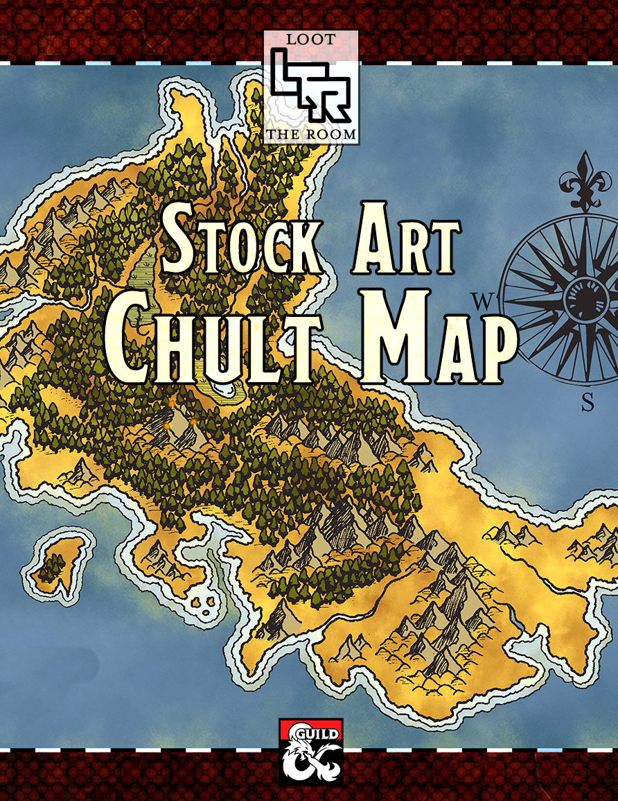 Chult Map : chult, Chult, Stock, Poster, Dungeon, Masters, Guild, Poster,