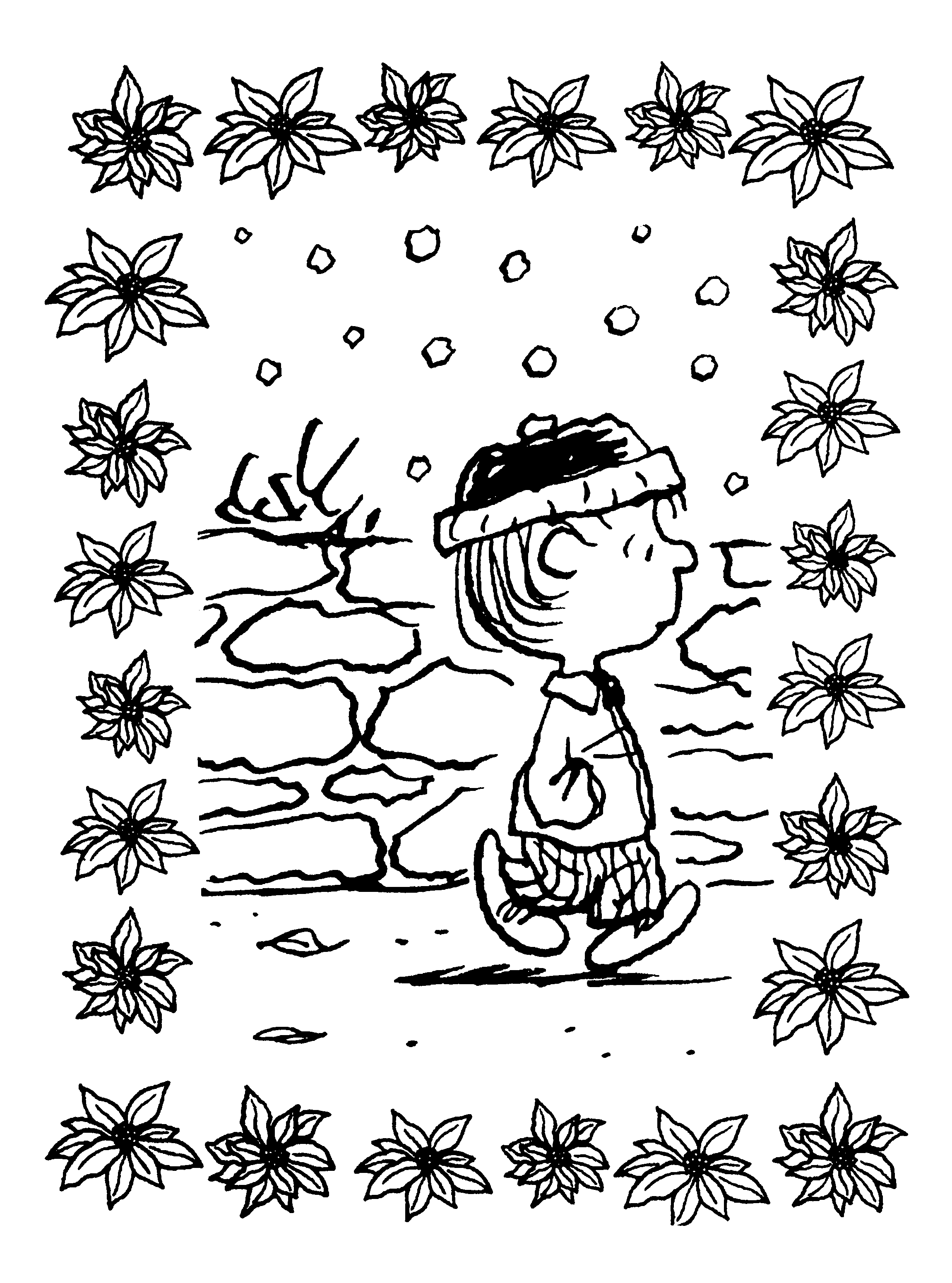 Peanuts Xmas Coloring and Activity Book | snoopy | Pinterest ...