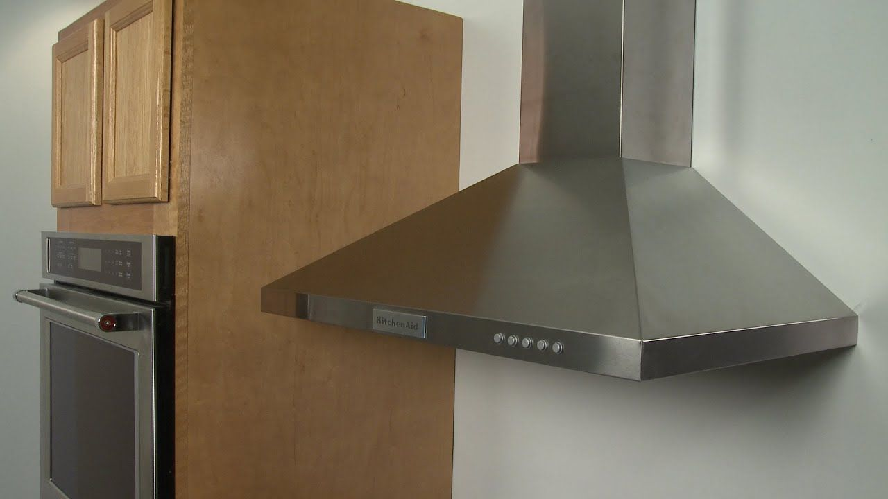 Kitchenaid Range Vent Hood Installation Model Kvwb400dss Youtube Kitchenaid Range Kitchen Range Hood Range Vent