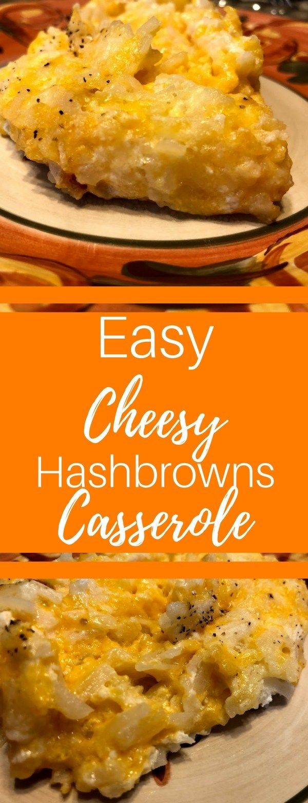 The Easiest Cheesy Hashbrowns Casserole Ever! images