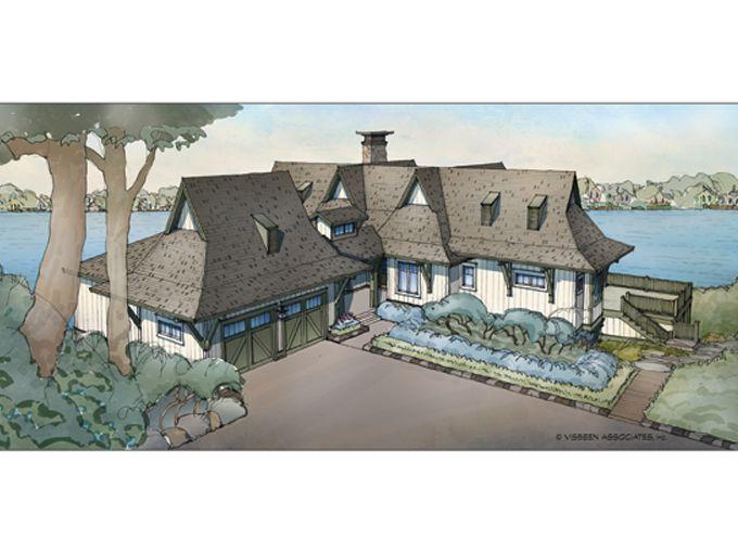 Six bedroom cottage 3,877 sq ft total Lake houses Pinterest