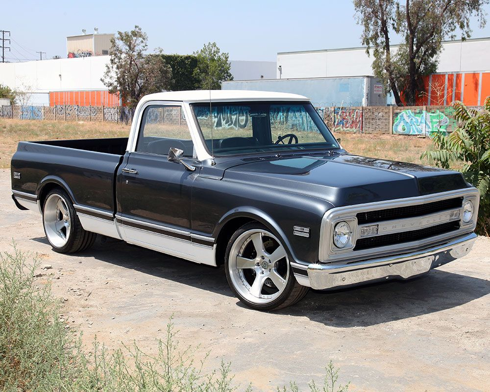 All Chevy chevy c-10 : The Fine Dime 1969 Chevy C10 Truck from Creations N' Chrome Scores ...