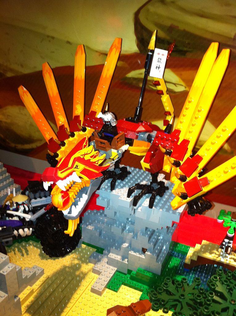 Ninjago Fire Dragon Ninjago Set Which Is The Fire Temple Skull