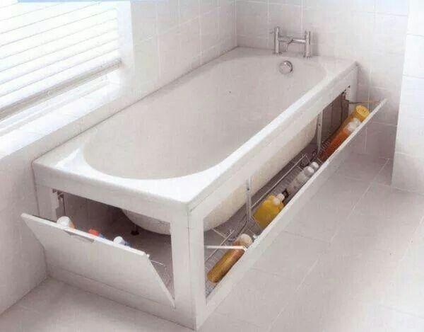 Idée géniale pour ranger les produits de toilette shoe - badezimmer renovieren selber machen